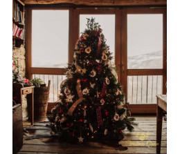 Albero di Natale vede folto