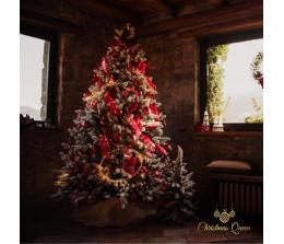 Albero di Natale Innevato Abete